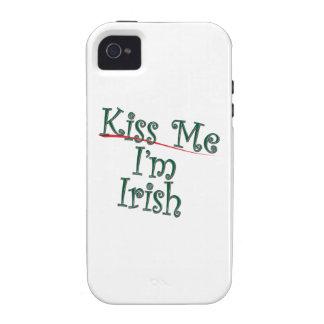 Kiss Me I'm Irish 1 Case-Mate iPhone 4 Cover