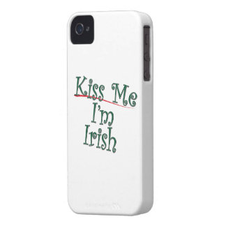 Kiss Me I'm Irish 1 iPhone 4 Cases