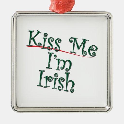 Kiss Me I'm Irish 1 Christmas Tree Ornament