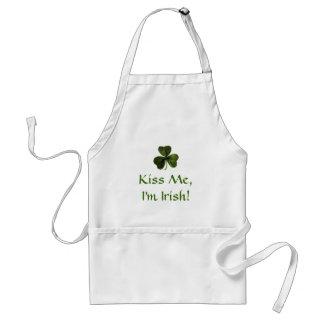 Kiss Me, I'm Irish! Adult Apron