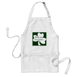 Kiss me I'm Irish! Adult Apron