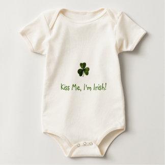 Kiss Me, I'm Irish! Baby Bodysuit