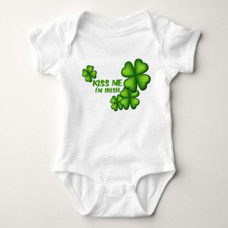 Kiss Me Im Irish Baby Bodysuit
