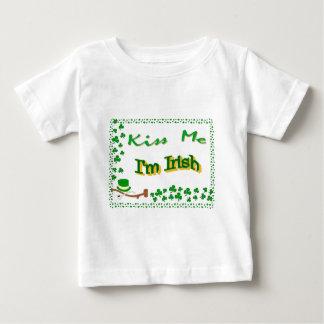 Kiss me, I'm Irish Baby T-Shirt