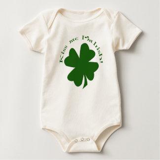Kiss Me I'm Irish Baby's Shirt