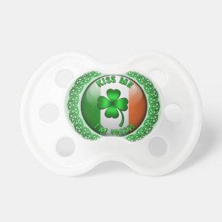 Kiss Me I'm Irish BooginHead Pacifier