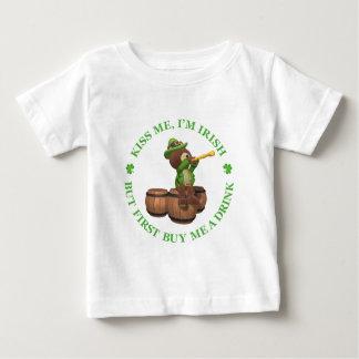 Kiss me, I'm Irish - But First Buy Me A Drink Infant T-shirt