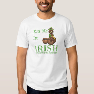 Kiss Me I'm Irish, but First Buy Me A Guinness T Shirt