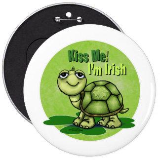 Kiss me I'm Irish Pin