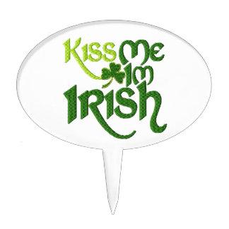 Kiss me I'm Irish Cake Topper