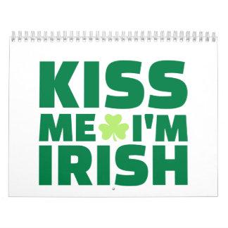 Kiss me I'm Irish Wall Calendars