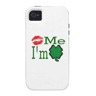 Kiss Me I'm Irish iPhone 4/4S Case