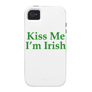Kiss Me I'm Irish Case For The iPhone 4