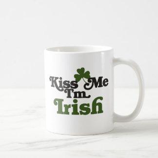 Kiss me Im Irish Coffee Mug