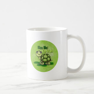 Kiss Me I'm Irish Coffee Mug