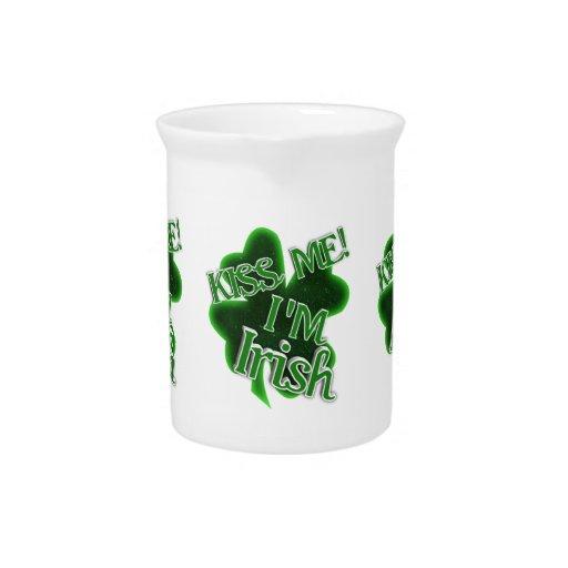 KISS ME, I'M IRISH! DRINK PITCHERS