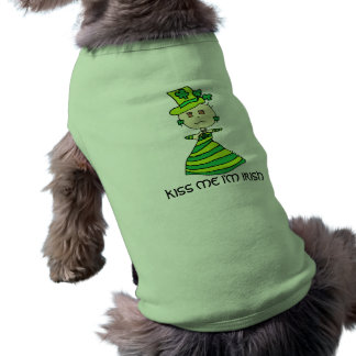 KISS ME I'M IRISH FOR ST. PATRICK'S DAY TEE