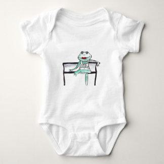 """Kiss me, I'm Irish"" Frog Baby Bodysuit"