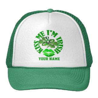 Kiss me i'm Irish Hats