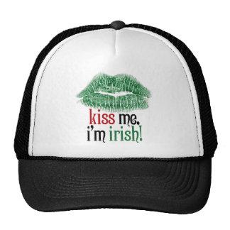 Kiss Me. I'm Irish. Trucker Hat