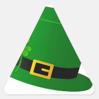 Kiss Me I'm Irish - hat Triangle Sticker