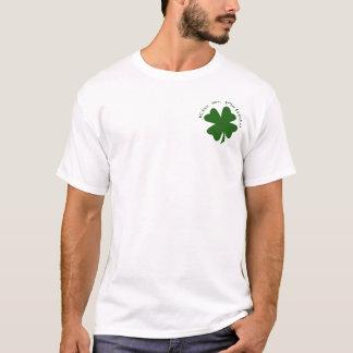 Kiss Me I'm Irish Henley T-Shirt