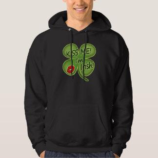 Kiss Me I'm Irish Hoodies
