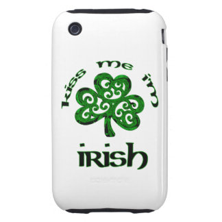 Kiss Me, I'm Irish iPhone 3 Tough Cover
