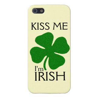 Kiss Me I'm Irish - iPhone 5 Case