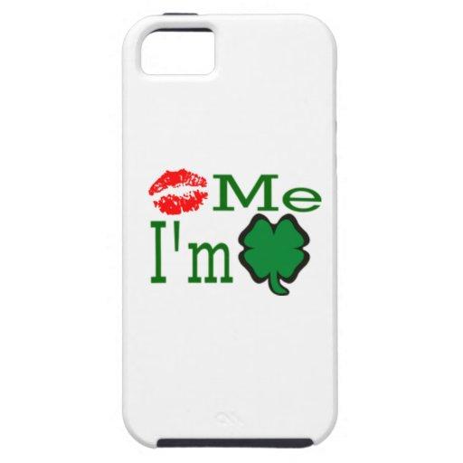 Kiss Me I'm Irish iPhone 5 Cases