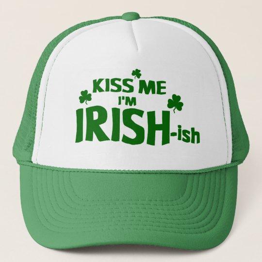 40895fdb06f Kiss Me I m Irish-ish Hat