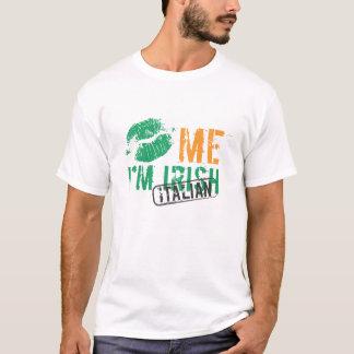 Kiss Me I'm Irish / Italian T-Shirt