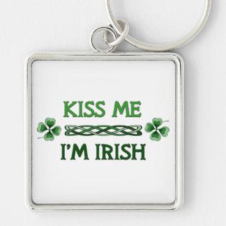 Kiss Me, I'm Irish Keychain