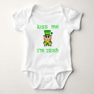 Kiss Me Im Irish ~ Lil Blarney Baby Bodysuit