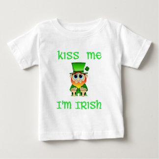 Kiss Me Im Irish ~ Lil Blarney Baby T-Shirt