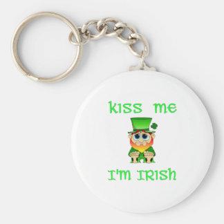 Kiss Me Im Irish ~ Lil Blarney Keychain