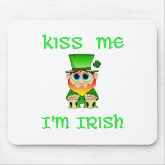 Kiss Me Im Irish ~ Lil Blarney Mouse Pad