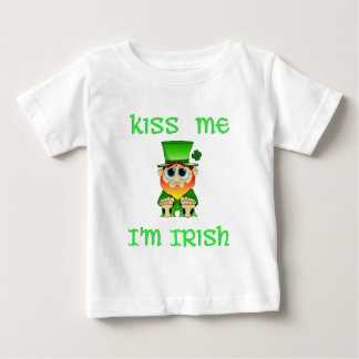 Kiss Me Im Irish ~ Lil Blarney Tee Shirt