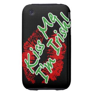 Kiss Me I'm Irish Lips Case-mate iPhone 3 case