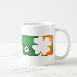 Kiss Me I'm Irish Logo Coffee Mug