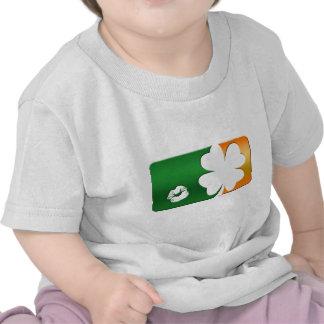 Kiss Me I'm Irish Logo Shirts