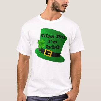 Kiss Me I'm Irish Men's Basic T-Shirt