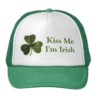 Kiss Me I'm Irish Mesh Hat
