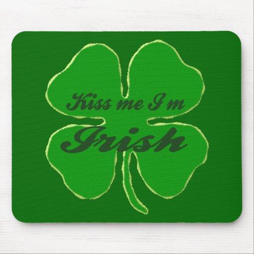 Kiss me I'm Irish Mouse Pad