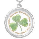 Kiss Me - I'm Irish - Necklace