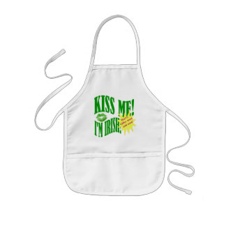 kiss me I'm Irish, offer ends soon Kids' Apron