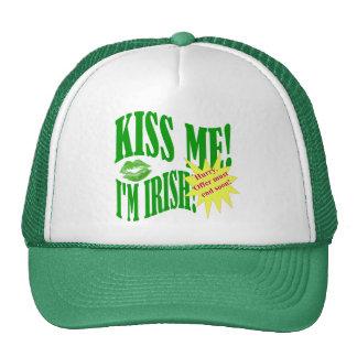 kiss me I'm Irish, offer ends soon Trucker Hat