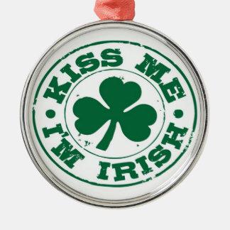 """""""Kiss me, I'm Irish"""" Ornament"""