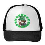 Kiss Me I'm Irish Pitbull Baseball cap Trucker Hats