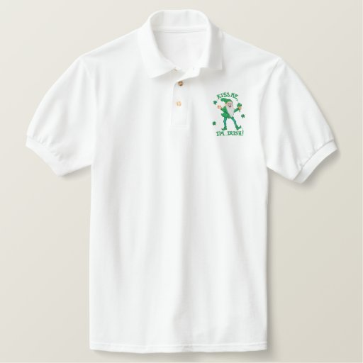 Kiss Me I'm Irish Polo Shirt
